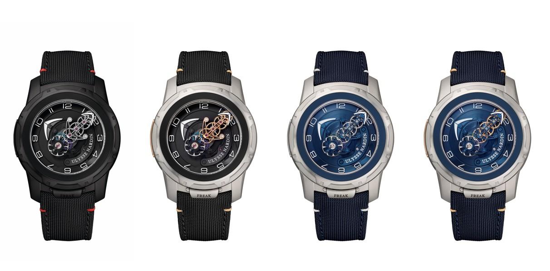 ユリスナルダン腕時計FREAKが珍しくてシリーズ新世代成員