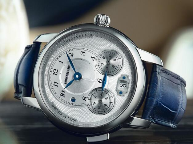 モンブラン ニコラス・ケイズは単に押しボタン時間単位計算は時計を積み重